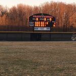 Pirates win game 2 over Ypsilanti behind a strong pitching performance from Ty Abner