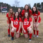 Varsity Honors Seniors with Big Win