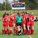 Girls Soccer Play for SEC Title