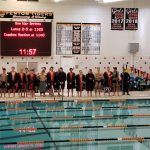 Boys Varsity Swimming finishes 4th place at Fenton Christmas Relays 2019