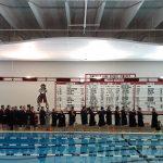 Boys Varsity Swimming beats Adrian 149 – 41