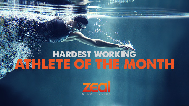 Vote Pinckney Now! Zeal Credit Union January Athlete of the Month