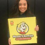 Hannah Burke is Awarded Hungry Howie's Scholarship