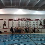 Boys Varsity Swim & Dive  beats Fenton 110 – 76