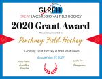 Field Hockey Awarded Grant