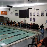 Boys Varsity Swimming beats Jackson 101 – 84