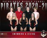 Coed Middle School Swimming ties Ypsilanti Community Middle School, 54 – 54