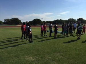 7-9th Grade Football Camp 2017