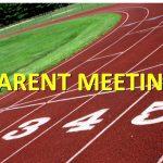 Track Parent Meeting