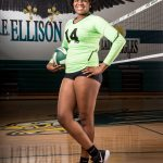 Volleyball Student Athlete of the Week–Deajia Brown