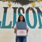KISD VB Player Of The Week–CHYRA THOMPSON