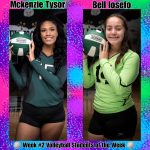 Week #2 Volleyball STUDENTS of the Week