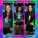 Week #5 Volleyball STUDENTS of the Week