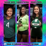 Week #6 Volleyball STUDENTS of the Week