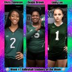 Week #7 Volleyball STUDENTS of the Week