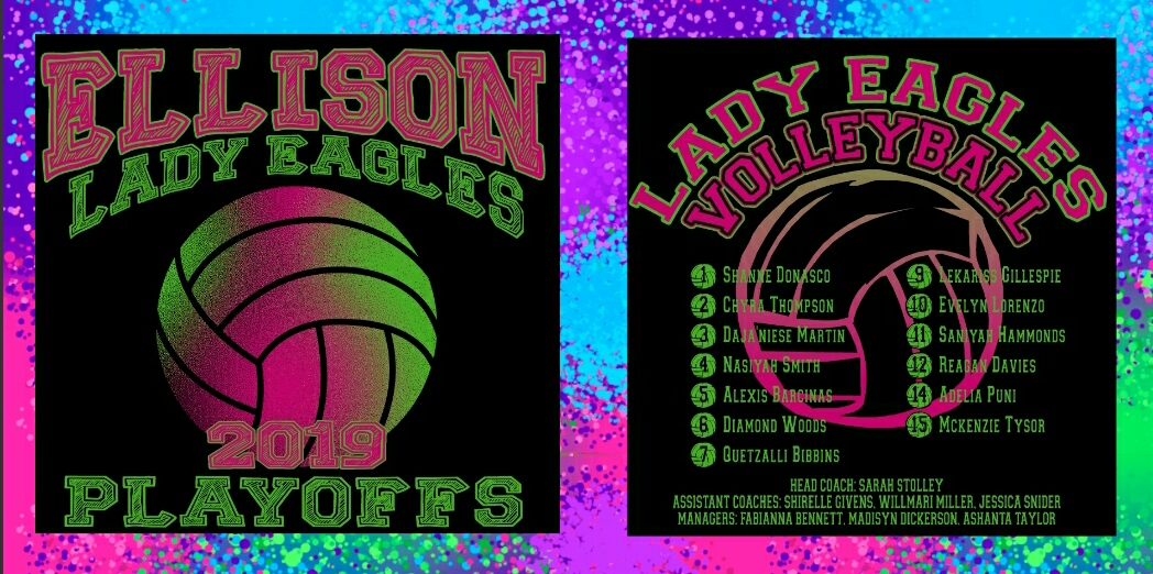 Volleyball Playoff T-Shirts