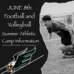 Football & Volleyball Speed, Strength & Skills Camp Begins June 8