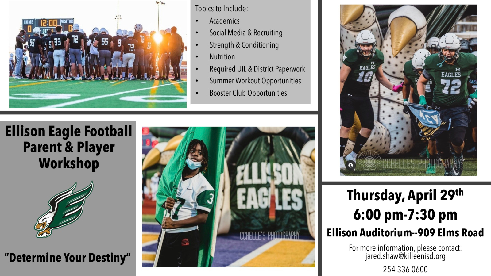 EHS Football Player and Parent Meeting