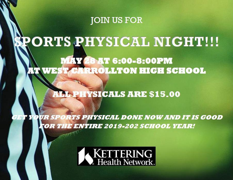 Sports Physical Night