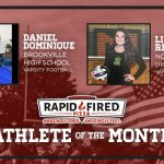 The Rapid Fired Pizza October Athlete of the Month is…