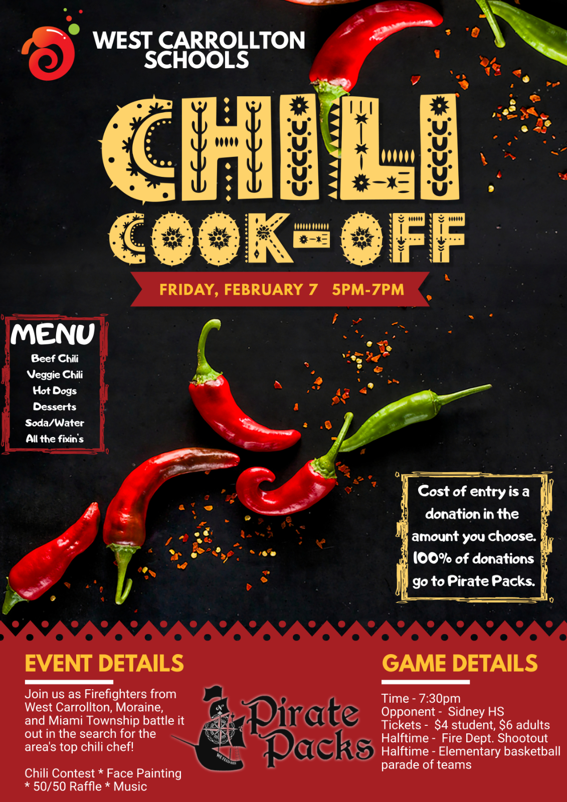 Friday Night Basketball, Chili Cook Off, and MORE!