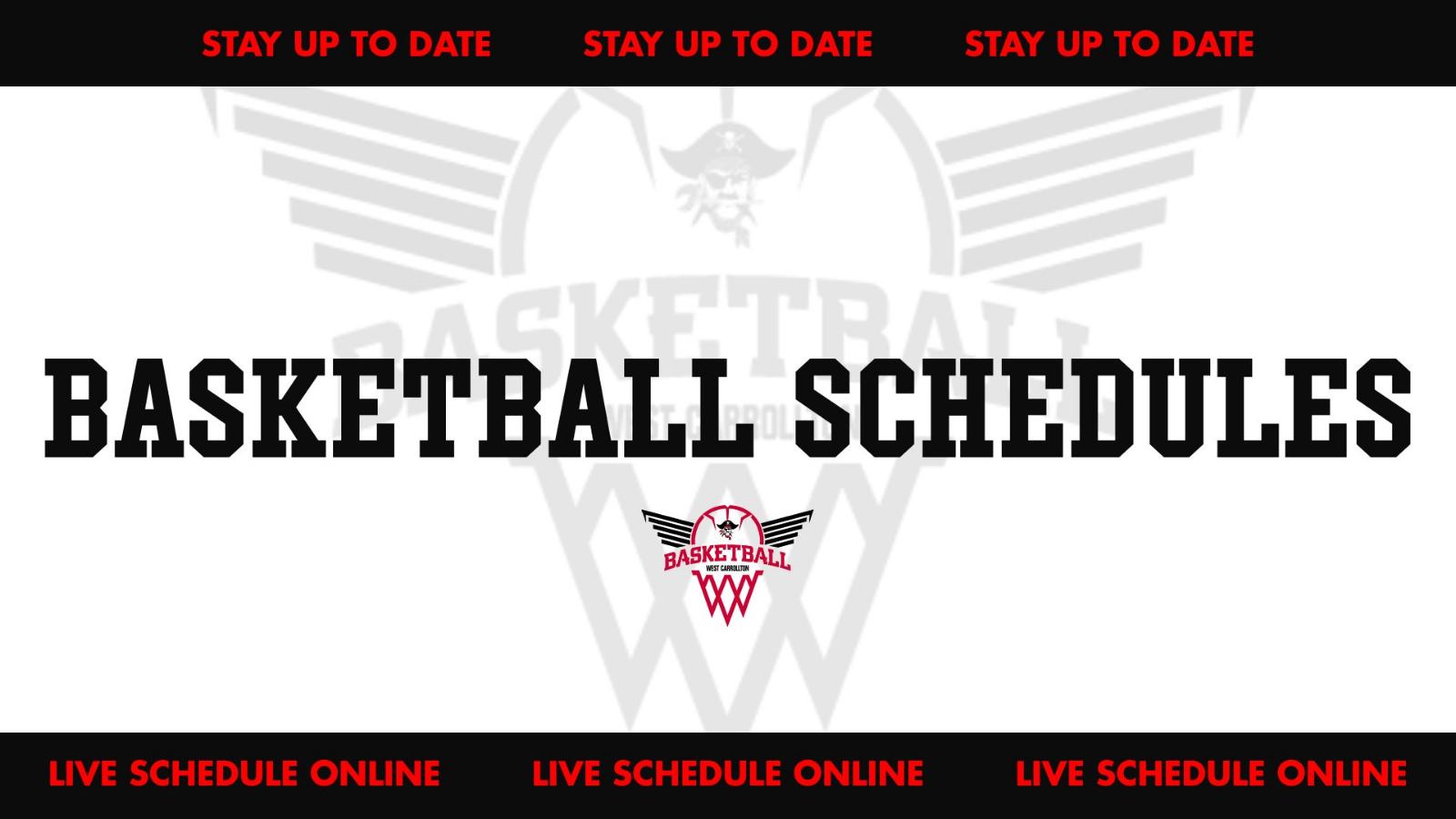Basketball Schedule Updates