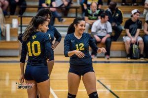 Varsity Volleyball vs. Hopkins 2016
