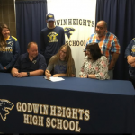Ashley Glusa – Signing Day!