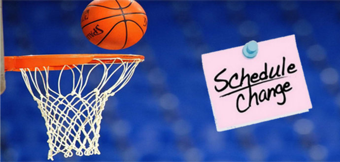 Boys/Girls Varsity Basketball Change