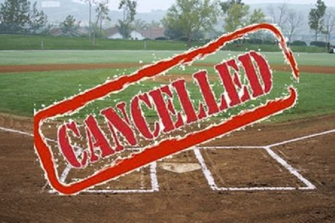Varsity Baseball Game at Hope College today, 5/24, Cancelled