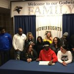 Jamaal Bailey signes with Muskegon Community College to play Basketall!