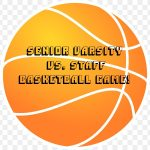 Senior Varsity vs. Staff Basketball Game!