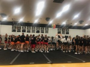 2018-2019 FHS Cheer Camp