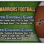 FREE Youth Football Camp & Coaching Clinics
