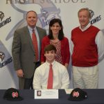 Daniel Myers signs to North Greenville University