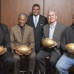 50th Anniversary NFL Gold Football Presentation