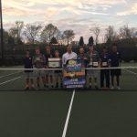 Spartanburg High School Boys Varsity Tennis beat Saint Xavier High School 5-4