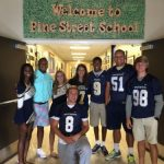 Vikings volunteer at Pine Street
