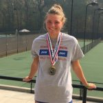 Maggie Cubitt wins back to back State Individual Tennis title