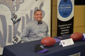Grady Thomas signing NLI to Western Carolina