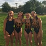 Girls 200 Medley Relay qualify for State