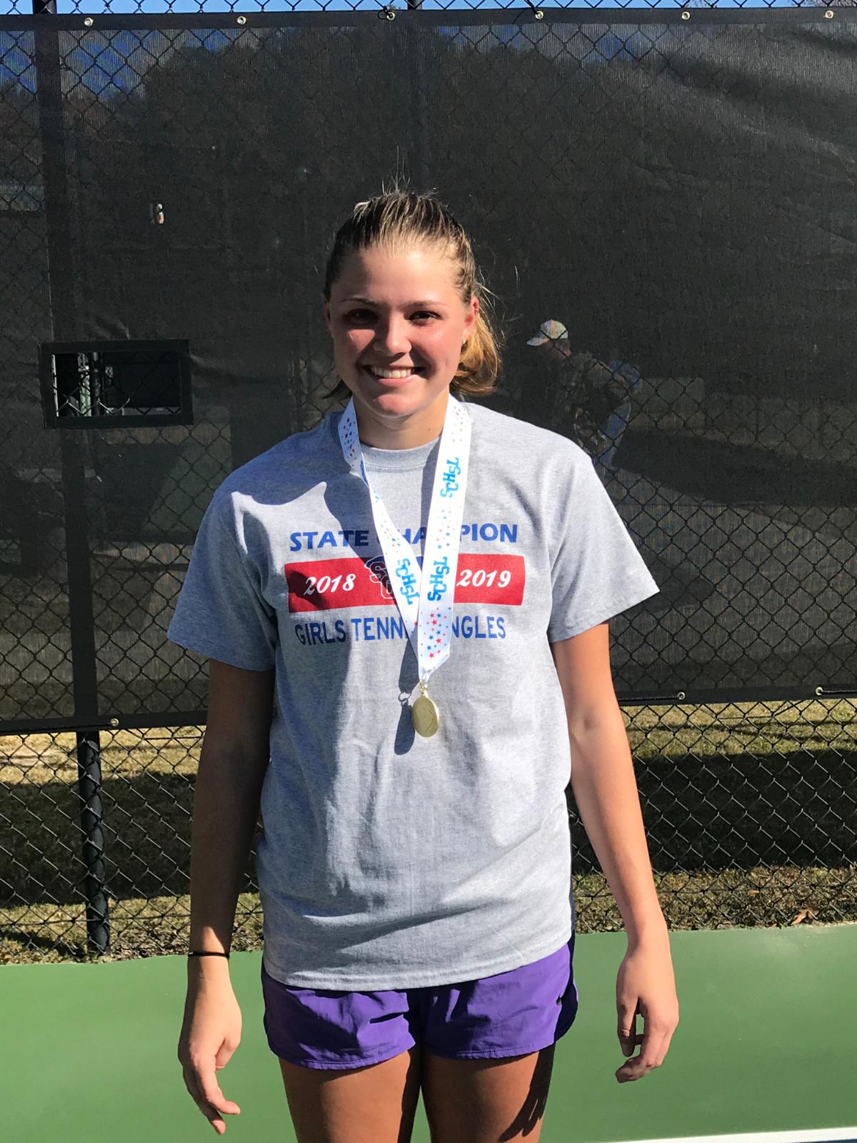Maggie Cubitt wins 5A-4A State Championship