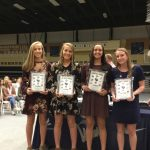 Girls Swim Team Awards