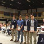 Boys swim team All-Region awards