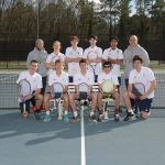 Boys tennis wins close match