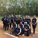 Girls Varsity Softball beats Blacksburg 11 – 4