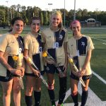 Girls Varsity Soccer beats Oakbrook Preparatory School 1 – 0 on Senior Night