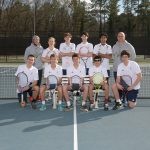 Boys Varsity Tennis beats T.L. Hanna 4 – 2 in Upperstate