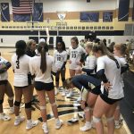 Varsity Volleyball Defeated Woodruff 3-0 in opener