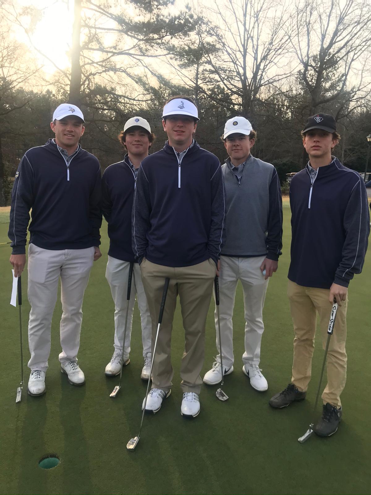 Boys Varsity Golf finishes 4th place at Rebel Invitational @ River Falls